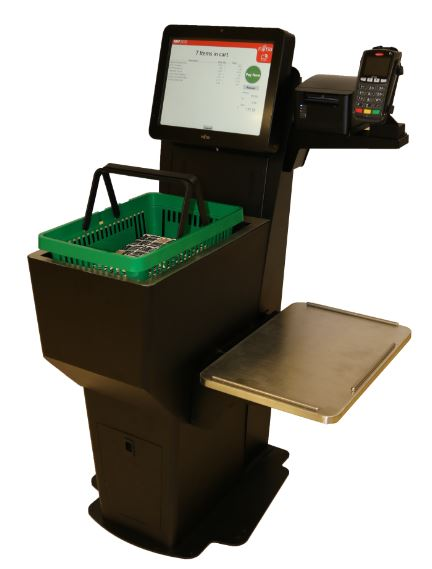 Self Check Out Kiosk for RFID