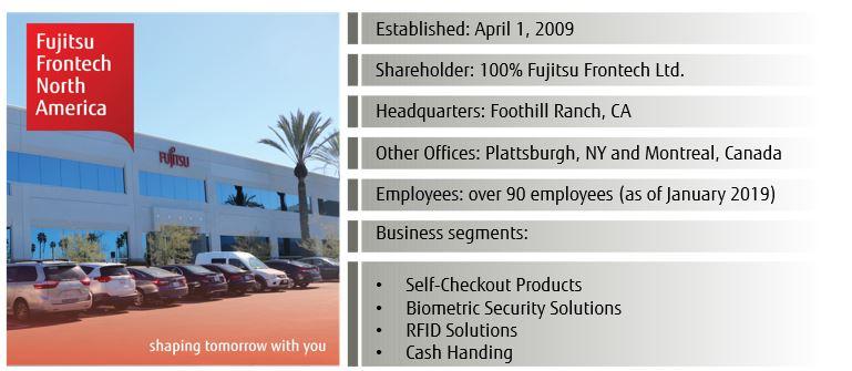 Fujitsu Frontech about us