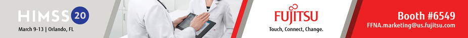 HIMSS 2020 FUjitsu Website